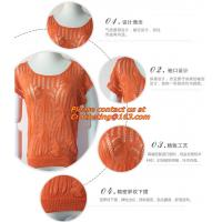 Buy cheap Blouse, clothing, garment, Hollow out, belt, sexy knitted, crover up, crochet, beach dress from wholesalers