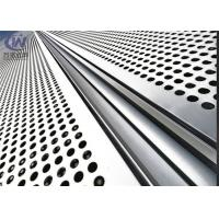 Buy cheap Building Decorative Perforated Sheet Metal Panels , Decorative Metal Sheets product