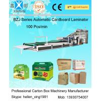 Wholesale BZJ Series High Speed Automatic Flute Laminator Automatic Carton Stapler Machine from china suppliers