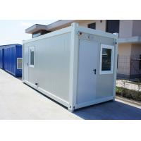 Buy cheap Insulation Modular Container House Portable With 75mm Glass Wool Sandwich Panel from wholesalers
