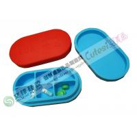 Wholesale No-toxic Silicone Gel Products Pill Box to Storage Medicine / Capsules from china suppliers