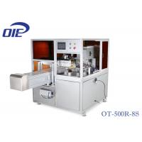 Buy cheap Rotary Table Pad Printing Equipment / One Color Servo Driven Pad Press Machine from wholesalers