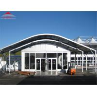Buy cheap Curved Modular Aluminum Pvc Pipe Tent For Large Exhibition Hall from wholesalers