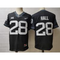 Buy cheap Mens Iowa State Cyclones #28 Breece Hall Nike 2020 Black NCAA College Football product