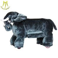 Buy cheap Hansel electrical animal toy ride for mall with pig unicorn stuffed animal with stuffed zoo animal scooter from wholesalers