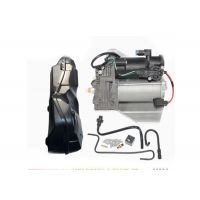 Buy cheap For Land Rover Range Rover Sport LR3 LR4 Discovery 3 & 4 Air Suspension Compressor Pump with Cover LR015303 LR023964 from wholesalers