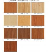 Buy cheap foshan laminate wood flooring 8mm thickness from wholesalers