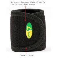 Buy cheap neoprene laminated with OK terry fabric High Breathable,Sweat-absorbent Wrist Band support from wholesalers