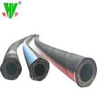 Buy cheap Professional hydraulic hose manufacturer supply steel wire braid OEM rubber hoses sae100 r17 from wholesalers