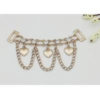 Buy cheap High Heel Shoe Accessories Chains Customized Color Corrosion Resistant from wholesalers