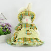 China stuffed rabbit toy ,wear clothes rabbit toy,plush rabbit,wear hat rabbit,rabbit plush toy on sale