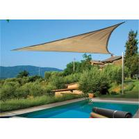 Wholesale HDPE Triangle Outdoor Sun Shade Sail Canopy For Carport And Pool from china suppliers