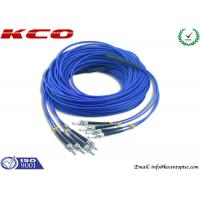 Buy cheap 4 Cores Armored Fiber Optic Patch Cord ST to ST Rodent Resistant from wholesalers