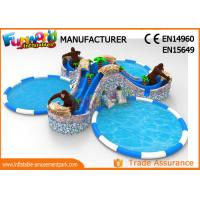 Wholesale Gorilla Water Wonderland Inflatable Water Theme Park Air Tight from china suppliers