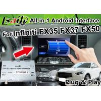 Buy cheap All-in-1 Android Auto Interface for Infiniti FX 35 FX37 FX50 Integration GPS Navigation , apple carplay ,Android auto from wholesalers