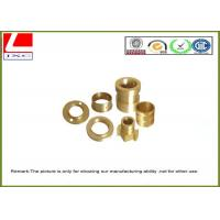 CNC lathe parts smooth finish Brass shaft Computer Numerical Control Manufactures