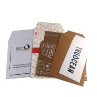 Buy cheap 100% Recycled Kraft White Paper Mailer Bag with Self-adhesive strip from wholesalers