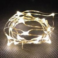 Buy cheap 20 micro LEDs battery operated string lights, available in warm white  from wholesalers