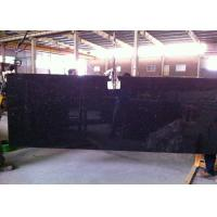 Buy cheap Black Galaxy Granite Island Top / Granite Kitchen Tops With Sparkles 2 CM Thick from wholesalers