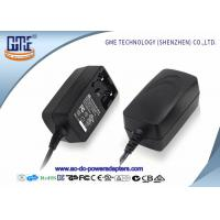 Buy cheap Interchangeable 12V 1A  Universal AC DC Adapters With EU US UK AU Plug product