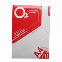 Wholesale 80gsm copy/double A/70g copy paper, 3.5 to 4.5% moisture from china suppliers