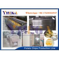 Buy cheap Easy Operation Automatic Electric Potato Chips Slicer French Fries Processing Line from wholesalers