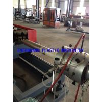 Double Wall Hdpe Corrugated Pipe Making Machine , Pp Tube Production line Manufactures