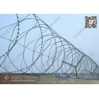 Buy cheap 22m Blade Length O.D 500mm Concertina Razor Wire Fencing | China Factory from wholesalers