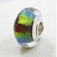 Buy cheap Dichroic Glass Beads with Big Hole for European Bracelets original factory wholsale supplier from wholesalers