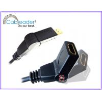 Buy cheap 5Ft long and black foil shield twisted pairs 1080P HDMI Cables 1.4 from wholesalers