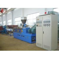 Buy cheap PET waste plastic recycling machine Co - rotation Parallel Twin screw from wholesalers
