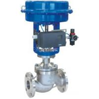 Buy cheap pneumatic diaphragm single seat control valve from wholesalers