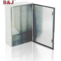 Buy cheap IP66 Stainless Steel Electrical Enclosure Boxes Full Welded Brushed Finish from wholesalers