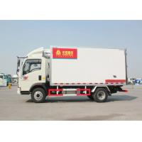 Buy cheap Refrigerated Delivery Truck 4 X 2 8 Tons 140 HP Engine Carrying Vegetables / Fruits from wholesalers