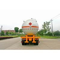 Buy cheap Transportation Fuel Petroleum / Gas Tank Truck Capacity 58300L / Semi Trailer from wholesalers