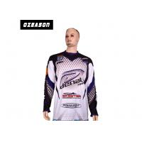 Buy cheap Sun Protection Fishing Tee Shirts , Lightweight Fishing Shirts No Fading Sublimated from wholesalers