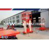 Buy cheap 2.2kw 300kg Mobile Aerial Work Platform Electrical Four Man Lift Platform from wholesalers