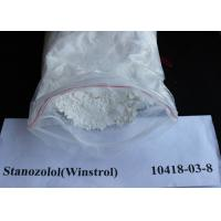 Buy cheap Stanozolol / Winstrol Oral Anabolic Steroids CAS 10418-03-8 Legal Oral Steroids from wholesalers