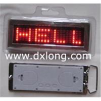Buy cheap LED buckle, belt buckle,LED pendant,name buckle,LED dog tag,fashion belt buckle,light buckle. from wholesalers