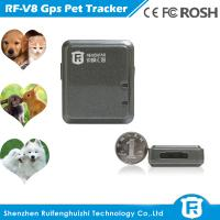 Buy cheap High quality cheapest pet gps tracker for cat/dog from wholesalers