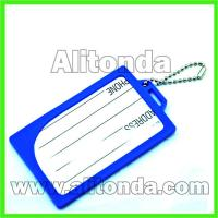 Buy cheap Custom high quality cheap soft pvc cute simple business card holder from wholesalers