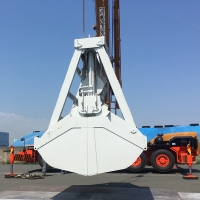 Buy cheap Remote Control 12 CBM Port Solutions Crane Grab Bucket from wholesalers