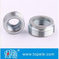 Buy cheap Electrical Imc Conduit Fittings Zinc Plated Steel Reducing Bushing , Threaded Reducer from wholesalers