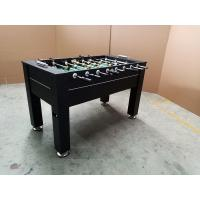 Easy Assemble Standard Foosball Table , MDF Soccer Game Table With Leg Ball Return