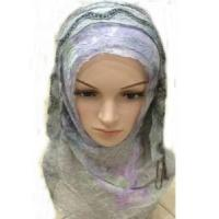Wholesale Crinkle Hijab Scarf (LC-C034) from china suppliers