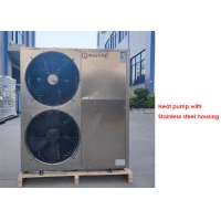 Buy cheap meeting 18kw air source heat pump for home heating and cooling with copeland compressor from wholesalers
