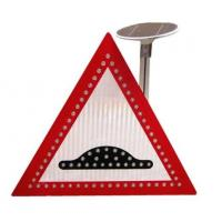 Buy cheap Be careful passers-by traffic sign .pedestrians traffic signal led sign board from wholesalers
