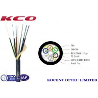 Buy cheap Micro Duct Optical Fiber Cable PE Sheath Multi Mode With High - Modulus Plastic Material from wholesalers