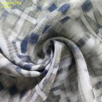 Buy cheap F5729 100%polyester chiffon 50D 60GSM printing, silver and gild foil available from wholesalers