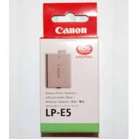 Buy cheap Canon LP-E5 LPE5 GENUINE BATTERY 4 XS XSI 450D 1000D from wholesalers